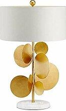 LWX Or Métal Moderne Feuille/Intérieur Lampe