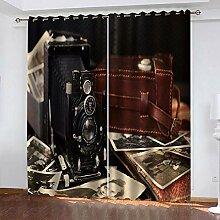 LWXBJX Rideaux Occultant Chambre - Appareil Photo
