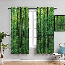 LWXBJX Rideaux Occultant Chambre - Vert forêt