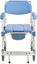 LXBH Chaise Mobile D'aisance, Chaise De