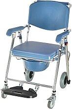 LXBH Chaise Mobile D'aisance Chaise De