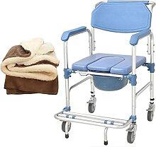 LXBH Mobile D'aisance Chaise De Toilette,avec