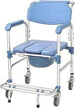 LXBH Mobile D'aisance Chaise De Toilette avec
