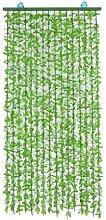 LXESWM Plante Artificielle Feuille De Rideau De