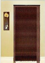 LXLIANZ 100% bambou porte Rideaux Perles en bois