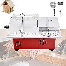 LXNQG DIY Modèle Table Scie, Mini Scie de Banc,