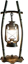 Lxqlan Old Style Table Lampe Personnalité Chambre