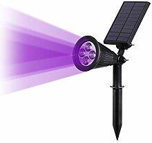 LYJASD Lyjun Solaire à Moteur 4/7 LED Lampe