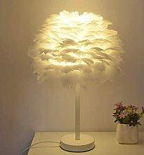 LYMHGHJ N C lampadaire Plume Lampe Chambre Chevet