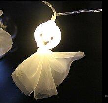LYMQY Guirlande Lumineuse à LED d'halloween,