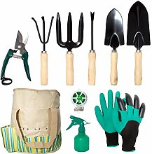 lyndeluxe Outil de Jardin 10 Pcs, Kit de Jardinage