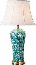 LZQBD Lampe de Bureau, Lampe de Table Chambre