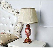 LZQBD Lampe de Bureau, Lampe de Table de Résine