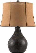 LZQBD Lampes de Table, Lampe de Bureau Rétro Art