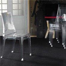 M-029 Chaise transparente design empilable PAVEL
