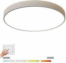M-GLT LED Ronde Plafonnier encastré, Acrylique