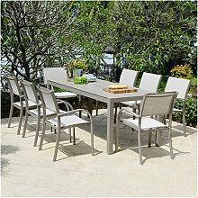 M&s - Ensemble table et 6 chaises de jardin en
