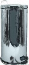 M S V - MSV Poubelle à pédale Inox Miroir 30L