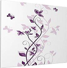 M-shop Peinture 40,6 x 50,8 cm Violet Arbre