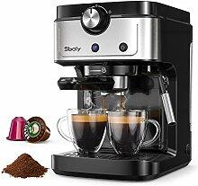 Machine à Expresso Sboly, Machine à Café 2 en 1