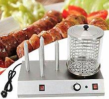 Machine à Hot Dog avec 4 Hot Dogs Dispositif à