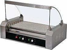 Machine à hot dog professionnelle - 7 rouleaux