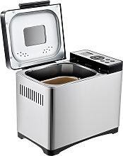 Machine à pain 19 Programmes Inox 500g-1kg 650W