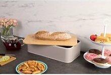 Machine à pain en métal avec planche à