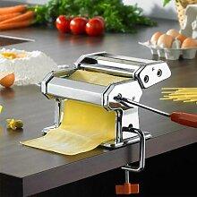 Machine à pâtes manuelle, manivelle, rouleau à