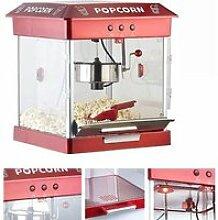 Machine à pop-corn 800 W avec cuve en acier