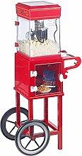 Machine à pop-corn Cinéma - Avec chariot rétro