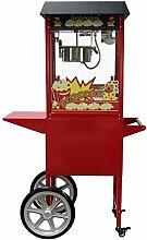 Machine à pop corn professionnelle avec chario