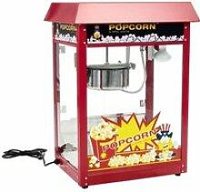 Machine à popcorn rouge professionnelle 1 600
