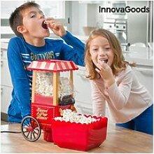 Machine à popcorn sans huile 1200w rouge -