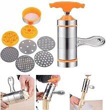 Machine manuelle de fabrication de pâtes en acier