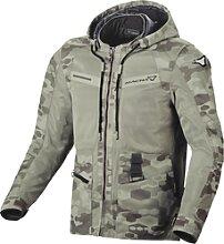 Macna Chinook, veste textile - Beige - 3XL