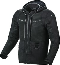 Macna Chinook, veste textile - Noir - L