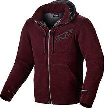 Macna District, veste textile - Rouge Foncé - XL