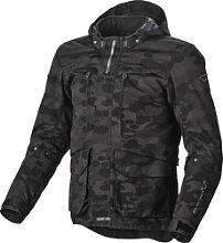 Macna Rival, veste textile - Noir/Gris - 3XL