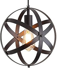 MADBLR7 4-Lumières Fer Forgé Métal Globe Cage