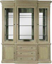 Made In Meubles - Grand vaisselier miroir 3 portes