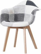 Made4us - PENNY - 1 fauteuil scandinave - Tissu -
