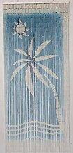 MadeInNature Rideau de Porte Perles Bambou,