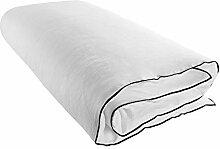 MADURA - Housse de Bout de lit CARLINA - Blanc et