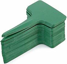 MagiDeal 100pcs Etiquettes en Plastique T-Type
