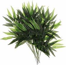 MagiDeal Lot de 12 Plante Bambou Lierre
