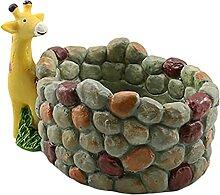 MagiDeal Pot de Plante succulente avec Trou Pot de