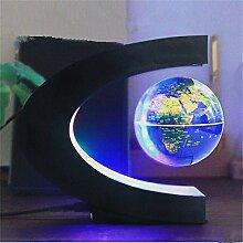 Maglev Globe Night Light Carte Du Monde Flottant