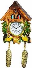 Magnet Horloge Chalet Coucou en resine
