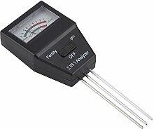 MAGT Testeur de pH du Sol, 2 en 1 humidimètre